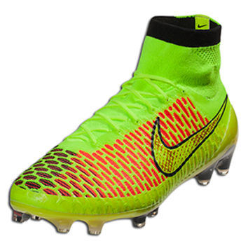 Nike Magista Obra FG - volt/metallic gold coin/black/hyper punch || SOCCER.COM