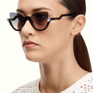 FENDI | BLINK Havana cat-eye sunglasses