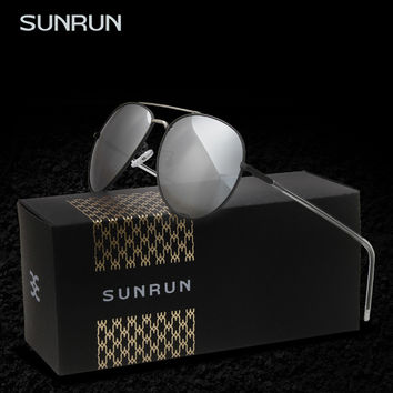 SUNRUN Polarized Sunglasses Women Fashion Brand Designer Men's  Sun glasses Driving Sunglass Gafas Oculo de sol feminino