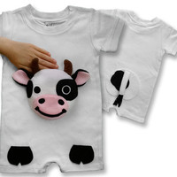 baby farmer, farm Onesuit, cow Onesuit, baby clothes, infant outfits, infant Onesuit, baby gift, baby clothes, farm birthday, personalized kids