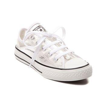 Youth Converse Chuck Taylor All Star Lo Clear Sneaker