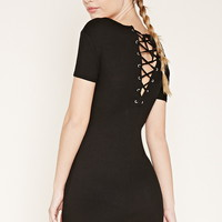 Lace-Up Mini Dress | Forever 21 - 2000176469