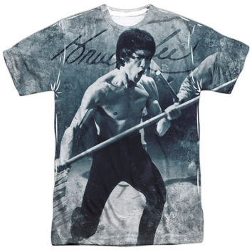 BRUCE LEE WHOOOAA OFFICIAL LICENSED 3D TEE T-SHIRT