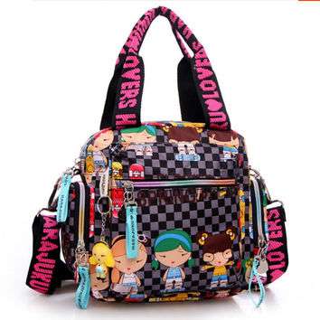 New Kipled Harajuku Doll waterproof nylon handbag ladies bag one shoulder cross-body bags Handbags mom