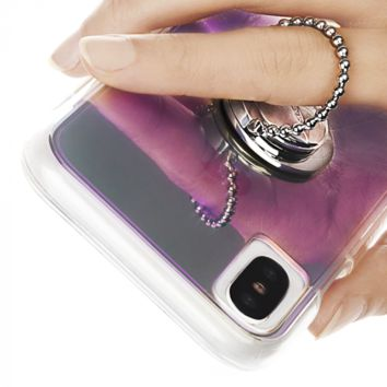 Silver Dotted Phone Ring Grip | Case-Mate