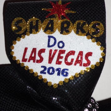 Las Vegas Welcome Sign Custom Made Cheer Bow Nationals