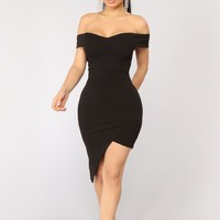 Do Or Die Dress - Black