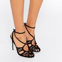 ASOS PERRY Caged Heels at asos.com