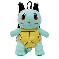Pokemon Squirtle Plush Backpack - Green/Brown : Target