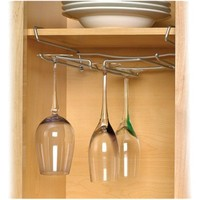 Under the Shelf Stemware Holder - Chrome