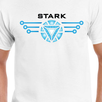 Captain America Civil War Stark Team Stark T-Shirt Marvel Iron Man T Shirt