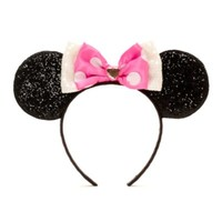 Minnie Mouse Pink Ears Headband | Disney Store