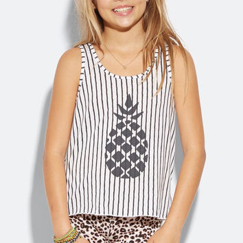 Billabong Girls - We Got You Tank | White Cap