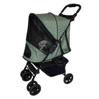Pet Gear Happy Trails Dog Stroller - Sage Green