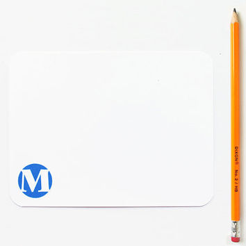 Monogram Personalized Stationery set - Personalized with Initial