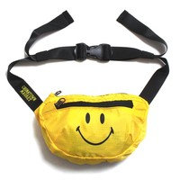 Smiley Cross Body Bag Yellow