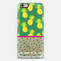 Falling Pineapples iPhone 6 case by Maria Kritzas | Casetify