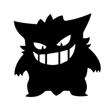 Pokemon Gengar  Vinyl Car/Laptop/Window/Wall Decal Any Corlor
