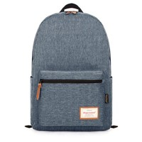 TinoTrade Unisex Leisure High School Backpack Linen Cotton Rucksack (Dark Grey):Amazon:Clothing