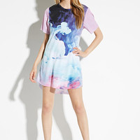 Rise of Dawn Electric Cloud T-Shirt Dress