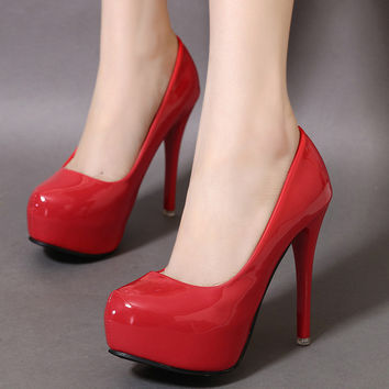 Fashion Stylish High Heel Shoes = 4804989508