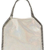 Stella McCartney Mini Falabella - Holograph Faux Leather Crossbody Bag | Nordstrom