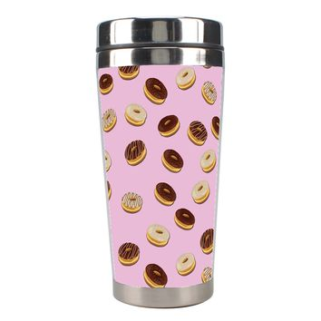 Donuts Pattern Stainless Steel Travel Tumblers