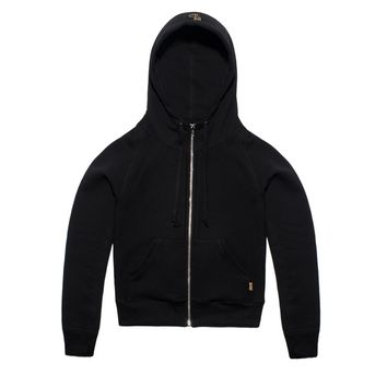 FLEECE ZIP-UP HOODY OVO WOMENS | October's Very Own