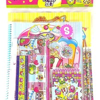 Moose Shopkins 11 Piece School Supplies Set/Stationery