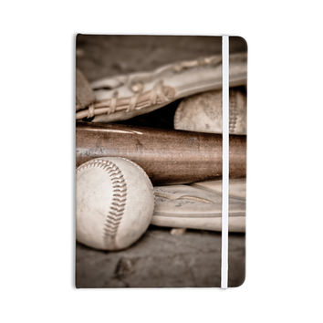 "Debbra Obertanec ""Play Ball"" Baseball Everything Notebook"