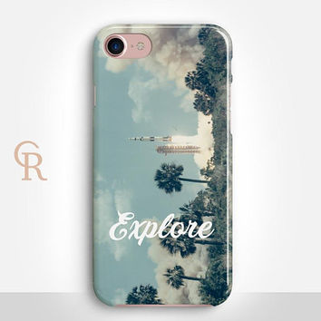 Explore Phone Case Phone Case For iPhone 8 iPhone 8 Plus iPhone X Phone 7 Plus iPhone 6 iPhone 6S  iPhone SE Samsung S8 iPhone 5 Nasa Space