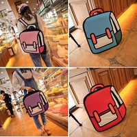 Comic Cartoon Bag