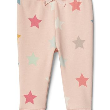 Starry fleece pants|gap