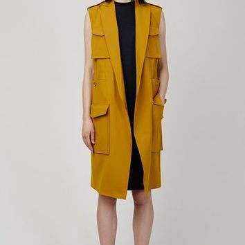 Acne Studios Rimini Bi-Stretch Sleeveless Jacket - WOMEN - JUST IN - Acne Studios