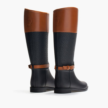 COMBINED CREST RAIN BOOT - Boots - Shoes - WOMEN - Italia/Italy
