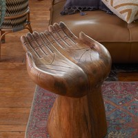 Open Hands Stool | Urban Outfitters