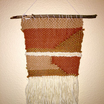 70s Inspired Hand Woven Wall hanging