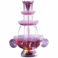 Walmart: Nostalgia Electrics Vintage Collection Lighted Party Fountain, LPF210