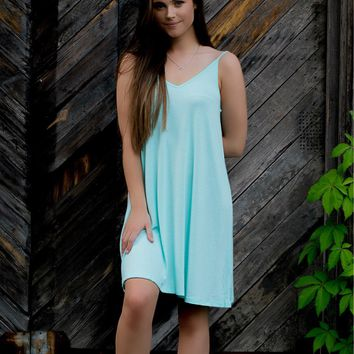 The Memphis Dress-Mint