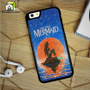 The Moon Ariel The Little Mermaid iPhone 6 Plus Case by Avallen