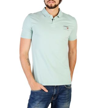 Napapijri Men Green Polo
