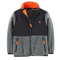 Carter's Microfleece Athletic Jacket - Toddler