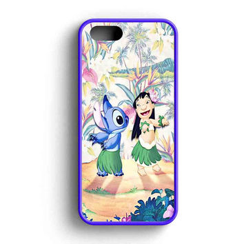 Disney Lillo And Stitch iPhone 5 Case iPhone 5s Case iPhone 5c Case