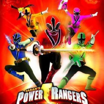 "Power Rangers Samurai Movie Poster 16""x24"""