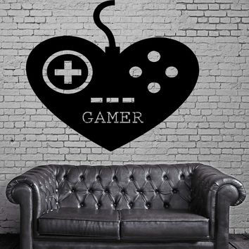 Wall Stickers Gamer Play Room Video Games Kids Room Teen Vinyl Decal Unique Gift (ig2498)