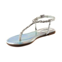 Womens Shi by Journeys Fresh Breeze Sandal, White Silver, at Journeys Shoes