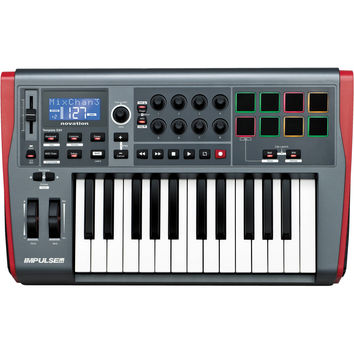 Novation Impulse 25-Key USB MIDI Controller