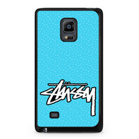 Stussy Raps St?ssy Surfware Clothing Samsung Galaxy Note Edge Case