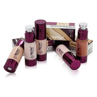 Foundation Liquid Long Lasting Pro 6 Colors Nude Makeup Face Cover Concealer Oil-Control Moisturizing Facial Base Cream