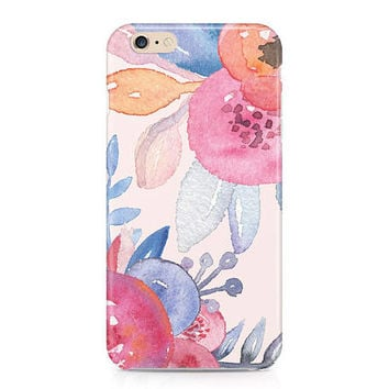 Beautiful Watercolor Flowers Phone Case - Floral Pattern Phone Case - Roses Phone Case - Pink Phone Case - iPhone 8 - Galaxy S8